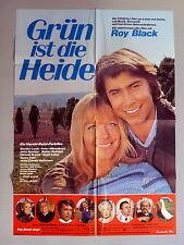 ROY BLACK, MONIKA LUNDI * GRÜN IST DIE HEIDE - A1-Kinoposter 1972 SCHLAGER