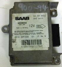 SAAB 900 airbag control unit 1994 - 1998 4433645 fits 3DR 5DR CV