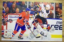 TYLER ENNIS 63 - Buffalo Sabres 2010 game night poster #9 - nhl hockey 11-15-10