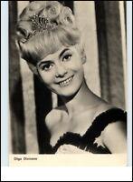 Starfoto Porträt Fernsehen Cinema Film Schauspielerin OLGA DIVINOVA Foto-AK 1965