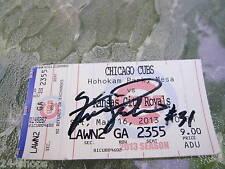 Ferguson Jenkins - Hall Of Fame Pitcher - autograph on ticket stub