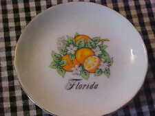 SMALL 3 1/2 IN COASTER DISH FROM FLORIDA ( ORANGES)