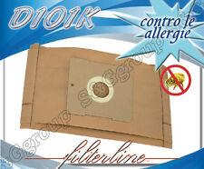 D101K 8 sacchetti filtro carta x Termozeta Silency 30106