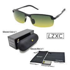 INFRANGIBILE Giorno e Notte Guida Occhiali Polarized HD anti riflesso verde giallo