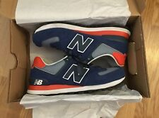 New Blance 574 Navy Blue / Orange: UK 6: US 6.5: EU 39.5