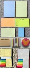 NEW Self-Stick Post-It Sticky Notes Tags Flag Pocket Book Memo Disney Mickey Lot