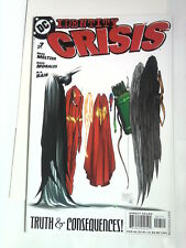 IDENTITY CRISIS n° 7 ( DC Comics ) 2005 Cover by Michael Turner.