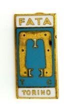Distintivo FATA Torino Macchinari (Pagani Milano) cm 2,1 x 1,1