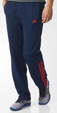 Adidas ESS pantalones de hombre pantalón deporte y Jogging Chándal Azul marino