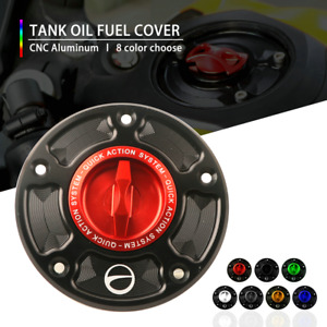 Motorcycle Racing Fuel Gas Tank Cover Caps Case for SUZUKI GSX-S 750 15-19