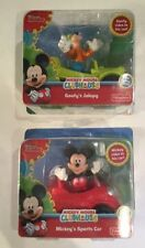 Get Both! Fisher Price Mickey Mouse Clubhouse Goofy's Jalopy & Mickey's Car