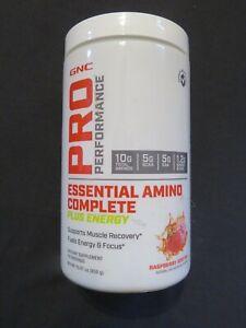 GNC Pro Performance Essential Amino Complete + Energy 15.87 Oz 30 Serv @7 OPENED