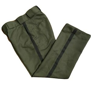Tact Squad 2 Pairs Work Uniform Tactical Long Pants Green Size 30 New