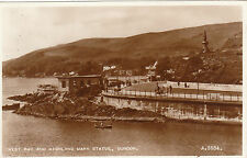 West Bay & Highland Mary Statue, DUNOON, Argyllshire RP