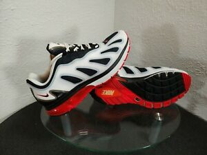 "Nike Air Max 96 + Evolve ""Bright Crimson"" Mens 8.5 White / Black / Red"