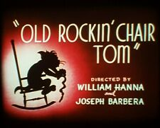 Tom and Jerry Super 8mm sound film 'Old Rockin Chair Tom'