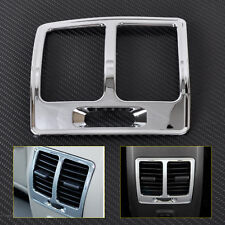 Chrome Armrest Rear Air Vent Outlet Trim Cover for Ford KUGA ESCAPE 2013 2014-15