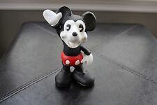 Vintage Cast Iron Mickey Mouse Still Penny Coin Bank