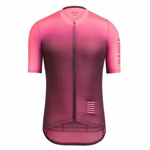 Rapha: Pro Team Aero Colourburn Jersey (Size Men's XXL - PInk/Multicolor)