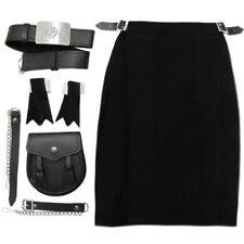 Vêtements traditionnels d'Europe noires en acrylique de Écosse