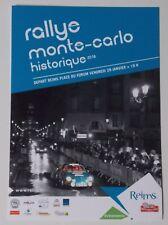 Carte postale Rallye Monté Carlo Historique 2016 départ de Reims Alpine A110