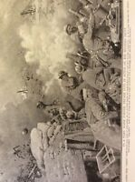m17c5 ephemera ww1 picture french soldiers fire trench mortars western front
