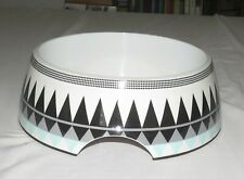 Bowl Mates Large Bowl for Dogs Plastic Black & White