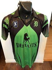 Mens Medium Cricket Jersey Defiants #1 Taha