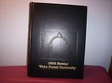 1993 Howler-Walke Forest University-Winston-Salem North Carolina Yearbook