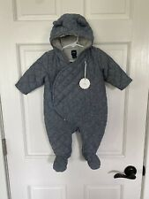 Baby gap New Quilted Lined Winter Suit 3-6 Months