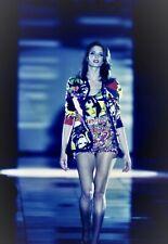 Gianni Versace Couture Spring 1991 Pop Art VOGUE Print Cotton T-Shirt
