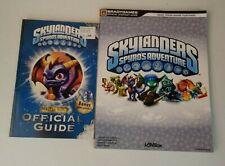 Lot of 2 Skylanders Spyro's Adventure Gme Guides Brady & Master Eon's