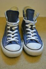 Converse All Star Hi Navy Size 9.5M 11.5W