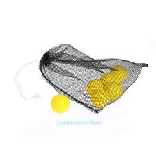 Nylon Mesh Net Bag Golf Ball Pouch Bag 40 Balls Carrying Holder Storage Closure