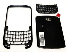 BlackBerry 8520 8530 Front Back Housing Faceplate Keypad Set Battery Door OEM