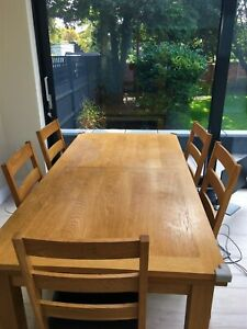 John Lewis Farmhouse 6-10 seater Extending Solid Wood Dining Table