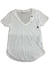 Abercrombie & Fitch soft Women's V-Neck Tee T-Shirt Short Authentic Size XXS NWT