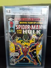 Marvel Team-Up Annual #2 CGC 9.8 White Pages - Spider-man & Hulk