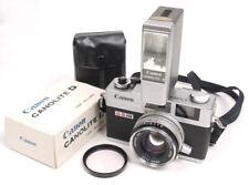 Canon Canonet QL17 GIII w/Canolite D ~ A Working Beauty