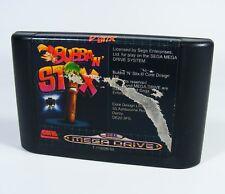 Bubba n Stix para Sega Mega Drive-sólo MD juego módulo Fantasy and 'n'