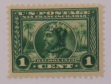 Scott 397 - 1 Cent Balboa - OG MH - SCV - $15.00