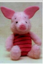 Disney vintage Piglet toy knitting pattern