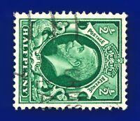 1934 SG439a ½d Green (Wmk Side) N47b Good Used CV-FU £5 baui