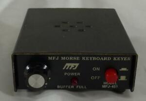 MFJ-451 Morse Code Keyboard Keyer