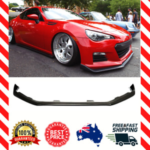 Front Bumper Spoiler Lip For Subaru BRZ CS Chargespeed Style 2012-2016