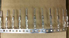 Lot of 100 Harley MX150 Molex male terminals switch wiring FX FL XL 22 GA