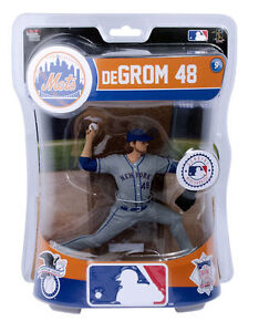 "Jacob DeGrom NY New York Mets Imports Dragon MLB Baseball Figure 6"""