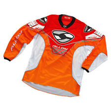 ALLOY MX MOTOCROSS JERSEY SHIRT 04 VIPER ORANGE / WHITE / RED enduro bike top