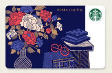 Starbucks KOREA 2017 Anniversary Independence Day Card 1ea  with original sleeve