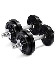 Yes4All Adjustable Dumbbells 50 lb *NEW* Dumbbell Weights (Pair)⚡️SHIPS FAST⚡️